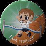Growth mindset reward badge - I am resilient