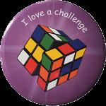 Growth mindset reward badge - I love a challenge