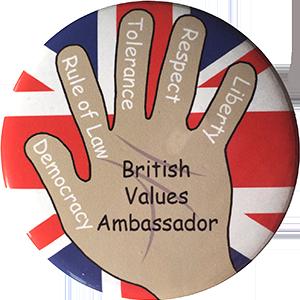 School Badge - British Values Ambassador
